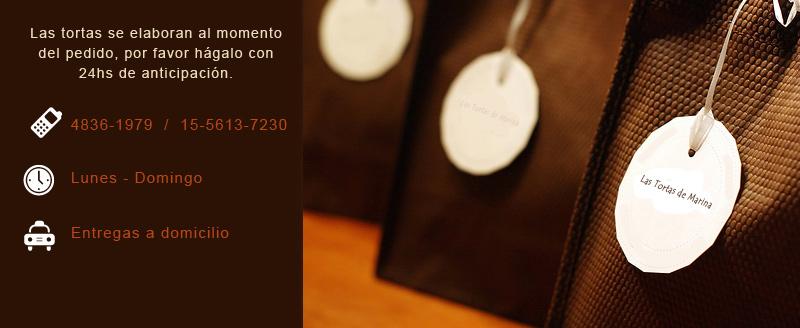 Tortas Artesalanes - Las Tortas de Marina - Elaboracion Casera - 4836-1979 / 15-5613-7230