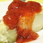 Cheesecake de Vainilla con Frutillas – 1.6KG