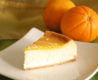 Cheesecake de Vainilla con Naranjas – 1.5KG